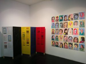 Installation view, Dongurami (Circle) and An-yeong (How are you? Good-bye) 2015