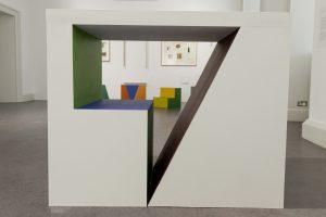 Plinths by Hugh McGettigan and Katie Burgess.