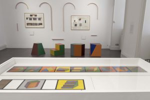 Works by Sol le Witt, Hugh McGettigan, Katie Burgess, David Tremlett and David Houlden